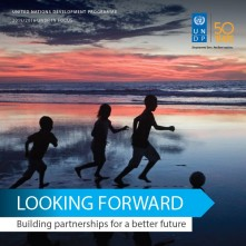 "UNDP In Focus 2015/2016 ""Looking Forward: Building partnership for a better future"""
