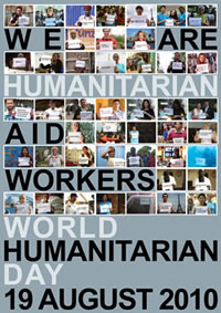 World Humanitarian Day 2010 poster