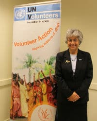 Flavia Pansieri at the UN House in Brussels