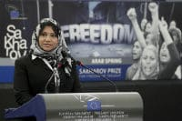Presentation of the 2011 Sakharov Prize on behalf of the Arab Spring © European Parliament