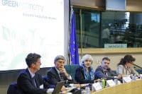 "Speakers at the event ""Working towards a green economy after Rio+20"" © European Union 2012 PE-EP"