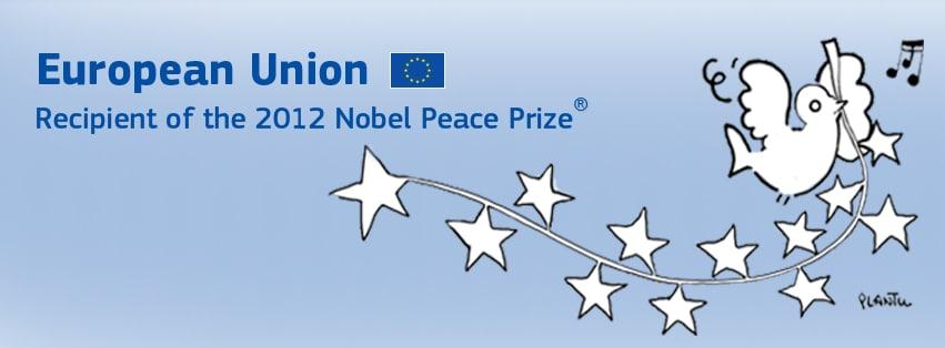 European Union, Recipient of 2012 Nobel Peace Prize