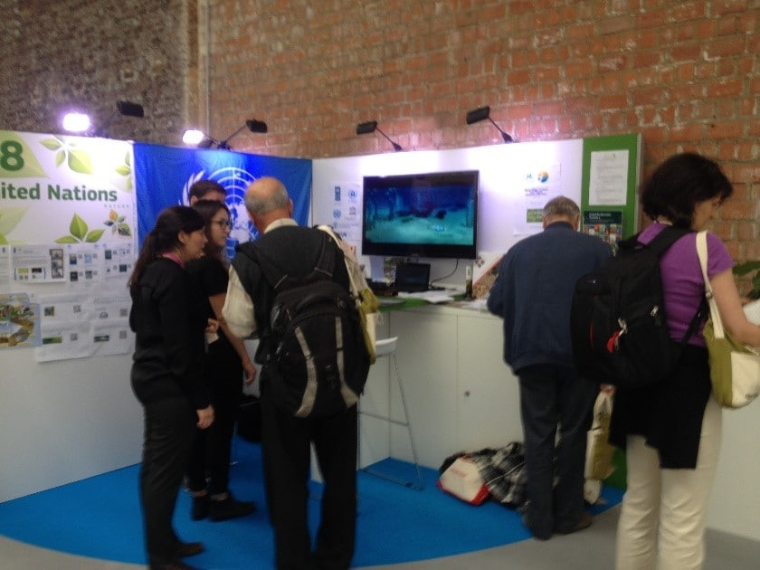 UN Stand at Green Week