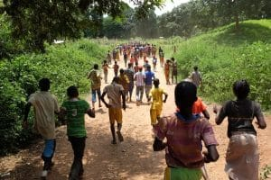 Children in Birao, Central African Republic